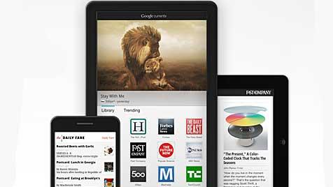 Google startet Zeitschriften-App f�r Handy & Tablet (Bild: Google)
