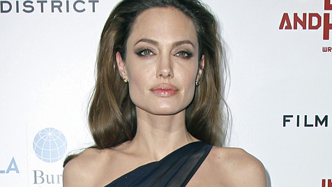 """""""Jolie hungert aus Solidarität zu Kindern"""" (Bild: AP)"""