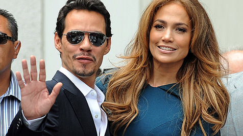 Marc Anthony rasend eifersüchtig auf Lopez' Lover (Bild: EPA)