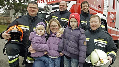 Gasunfall in NÖ: Drei Kinder durch CO-Austritt bewusstlos (Bild: Reinhard Holl)