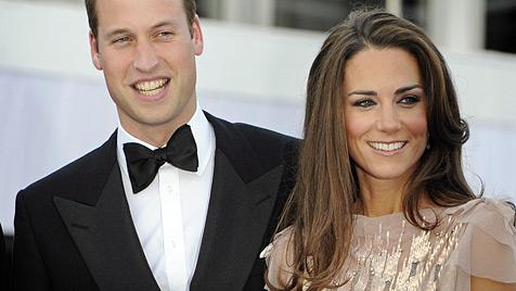 William und Kate reisen zum Queen-Jubiläum um Welt (Bild: EPA)