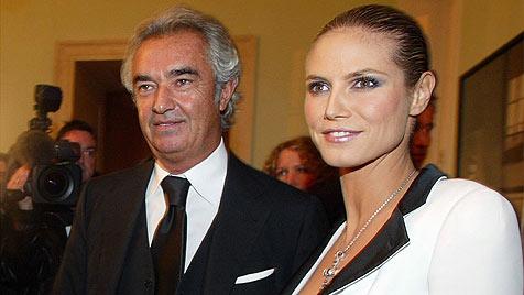 Briatore hat seine Tochter mit Klum noch nie gesehen (Bild: AP)