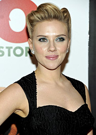 Scarlett Johansson: Frisch verknallt in britischen Musiker (Bild: AP)