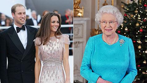 William und Kate dürfen nun endlich zusammen feiern (Bild: AP)