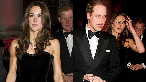 """Kate verzaubert in McQueen-Robe und zeigt ihre """"Muckis"""" (Bild: AP, AFP)"""