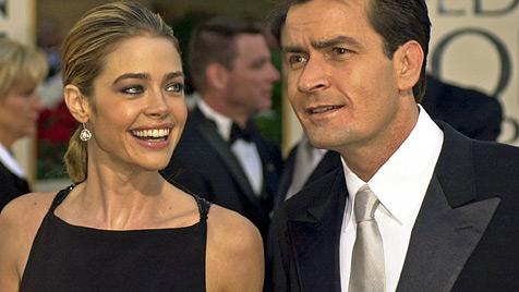 Charlie Sheen: Urlaub mit Ex-Frau Denise Richards (Bild: AP)