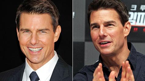 Tom Cruise unter schwerem Botox-Verdacht (Bild: AP EPA)
