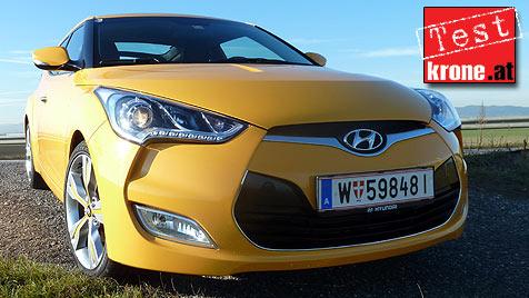Hyundai Veloster: Was das Korea-Coup� wirklich kann (Bild: Stephan Sch�tzl)
