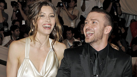 Justin Timberlake und Jessica Biel angeblich verlobt (Bild: EPA)
