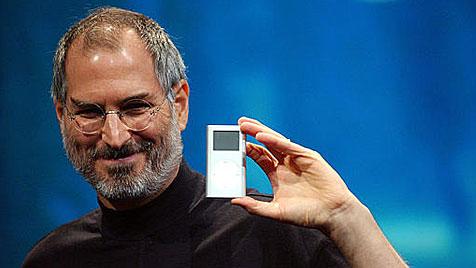 Steve Jobs erhält posthum Grammy für iPod und iTunes (Bild: AP)