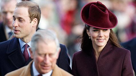 Kate feiert erste Weihnachten mit der Royal Family (Bild: AP)