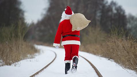 """Wunschzettel in den USA erreichte """"Santa Claus"""" (Bild: dpa-Zentralbild/Patrick Pleul)"""