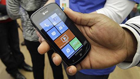 Microsoft setzt mit Windows Phone verstärkt auf Asien (Bild: AP)