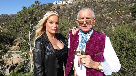 Prinz von Anhalt führt Gina-Lisa in Hollywood ein (Bild: Frederic Prinz von Anhalt)