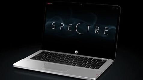 HP stellt edles Ultrabook mit Glasoberfläche vor (Bild: Hewlett-Packard)