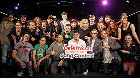 Österreichs erste Song-Contest-Gegner stehen fest (Bild: APA/Georg Hochmuth)