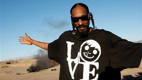 Snoop Dogg mit Marihuana erwischt - festgenommen (Bild: AP)