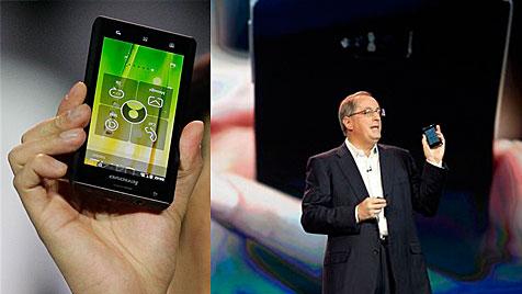 Intel bringt Chips auf Smartphones und Tablet-PCs (Bild: AP)