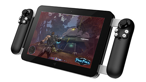 Razer stellt High-End-Tablet f�r Gamer vor (Bild:  (Bild: Razer))