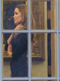 """""""Brangelina"""" waren zu Besuch beim US-Präsidenten (Bild: AFP)"""