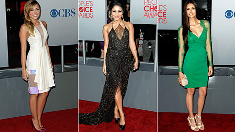 "Die sexy Stars bei den ""People""s Choice Awards"" (Bild: AP)"