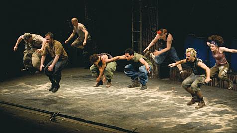 20 Jahre Trommel-Kult: Stomp kommt nach Wien (Bild: BB Promotion/Steve McNicholas)
