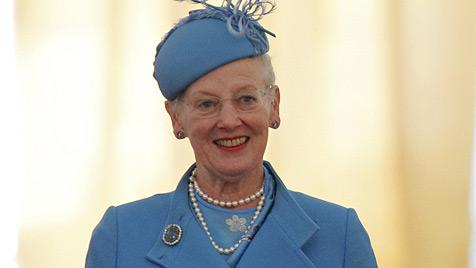 Königin Margrethe seit 40 Jahren auf Dänemarks Thron (Bild: EPA)