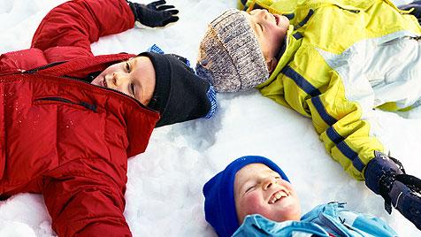Lustige Aktivitäten für dich und deine Kids im Winter (Bild: thinkstockphotos.de)