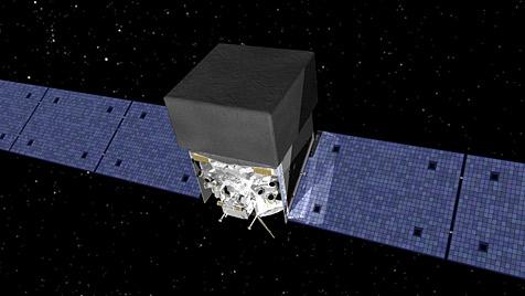 Neu entdeckter Doppelstern strahlt im Gamma-Bereich (Bild: NASA)