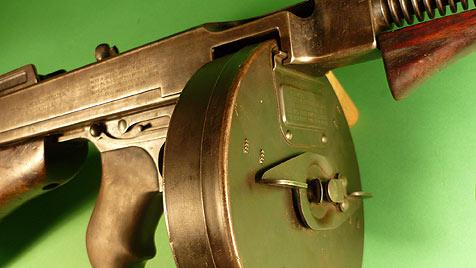 Waffen von Bonnie und Clyde wurden versteigert