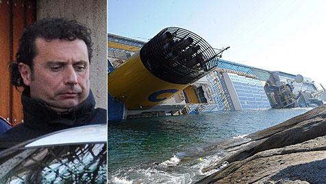 """Schiffspriester: """"Schettino heulte wie ein Kind"""" (Bild: EPA)"""