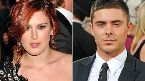 Zac Efron angeblich total verknallt in Rumer Willis (Bild: AP EPA)