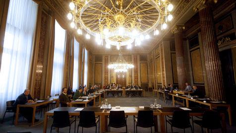 Erste Zeugenliste: Gorbach f�r 1. Februar geladen (Bild: APA/GEORG HOCHMUTH)