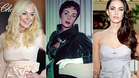 Lindsay Lohan oder Megan Fox: Wer soll Liz Taylor spielen? (Bild: AP EPA)