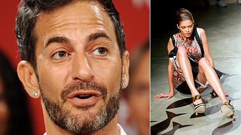 Marc Jacobs will Models Schuhe an die Füße kleben (Bild: EPA)