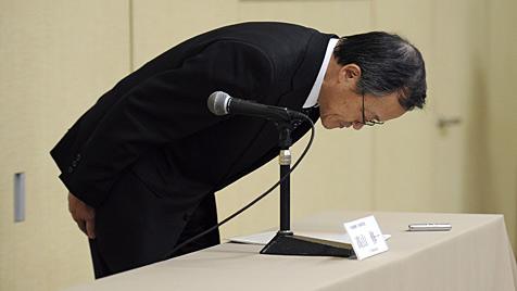 Olympus-Chef Shuichi Takayama tritt im April zurück (Bild: EPA)