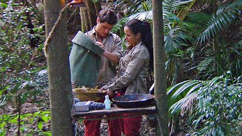 Dschungel-Liebe: Rocco hat sich in Kim verknallt (Bild: (c) RTL)