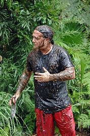 Dschungelcamp ade: Rocker Martin Kesici steigt aus (Bild: (c) RTL)