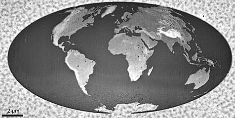 IBM-Forscher basteln kleinste 3D-Landkarte der Welt (Bild: IBM Research)