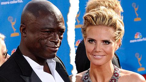 Heidi Klum und Seal haben sich nach 7 Jahren Ehe getrennt (Bild: EPA, krone.at-Grafik)