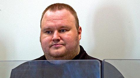 """MegaUpload-Betreiber Schmitz: """"Ich bin unschuldig"""" (Bild: EPA)"""