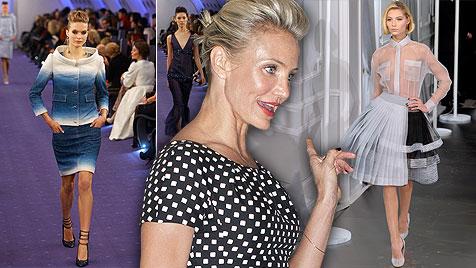Die Frühlingslooks von Versace, Dior und Chanel (Bild: DAPD, EPA, krone.at-Grafik)