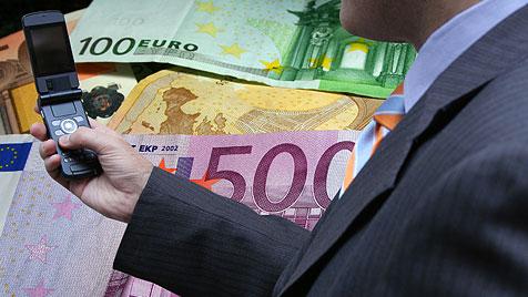 Smartphone-App spürt Falschgeld unkompliziert auf (Bild: thinkstockphotos.de)