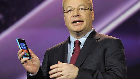 Nokia schrieb 2011 1,16 Milliarden Euro Verlust (Bild: AP)