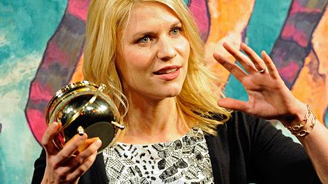 """Claire Danes mit """"Hasty Pudding Award"""" geehrt (Bild: EPA)"""