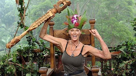 """Brigitte Nielsen ist """"Dschungelkönigin 2012"""" (Bild: RTL/Stefan Menne)"""