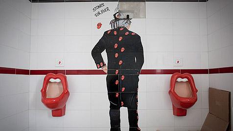 "D: ""Kisses""-WC in Stones-Museum erhitzt die Gemüter (Bild: dapd/Philipp Guelland)"