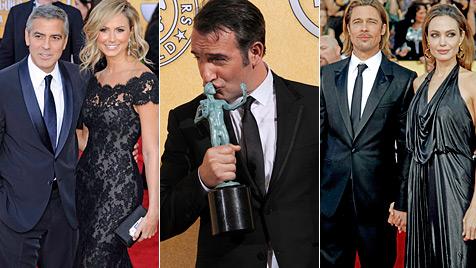 Die Gewinner und Roben: Alle Bilder der SAG-Awards (Bild: AP EPA)