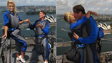 Heiratsantrag war laut Hasselhoff doch nur Scherz (Bild: AFP)