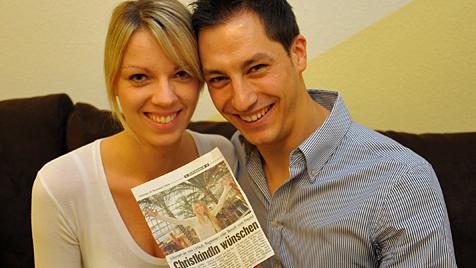 """Eva und Andrea aus Traun sind das """"Krone""""-Traumpaar (Bild: Chris Koller)"""